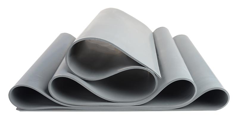 Natural rubber membrane 42 Shore A grey